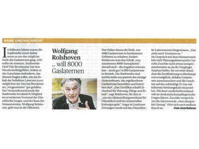 Rheinische Post 31.05.2017